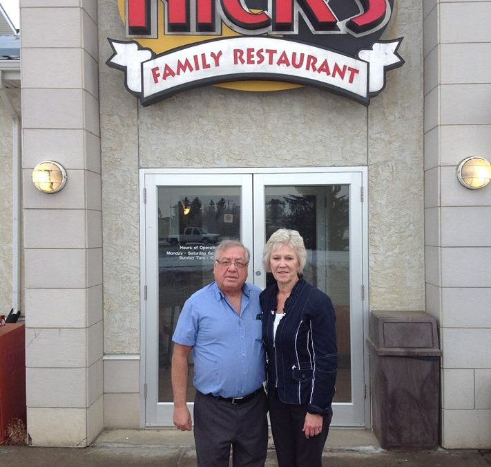 THANK YOU TO NICK'S FAMILY RESTAURANT