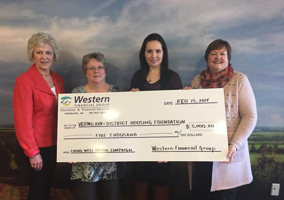 THANK YOU TO WESTERN FINANCIAL GROUP